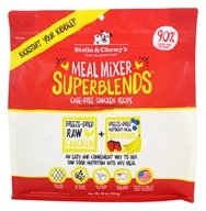 Stella & Chewy's - Freeze-Dried Meal Mixer SuperBlends for Dogs Cage-Free Chicken - 16 oz.