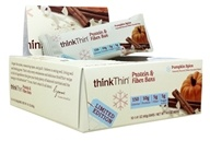Think Products - thinkThin Protein & Fiber Bars Pumpkin Spice - 10 Bars