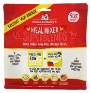 Stella & Chewy's - Freeze-Dried Meal Mixer Lil' SuperBlends for Small Breed Dogs Cage-Free Chicken - 3.25 oz.