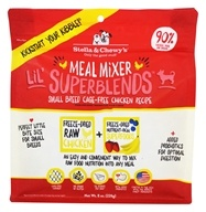 Stella & Chewy's - Freeze-Dried Meal Mixer Lil' SuperBlends for Small Breed Dogs Cage-Free Chicken - 8 oz.