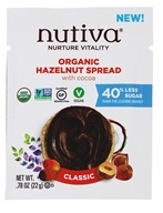 Nutiva - Organic Hazelnut Spread with Cocoa Classic - 0.78 oz.
