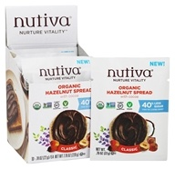 Nutiva - Organic Hazelnut Spread with Cocoa Classic - 10 Packet(s)