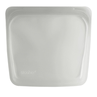 Reusable Silicone Sandwich Storage Bag Clear - 15 oz. by Stasher