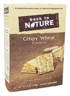 Back To Nature - Crispy Wheat Crackers - 8 oz.