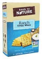 Back To Nature - Crispy Wheat Crackers Ranch - 8 oz.
