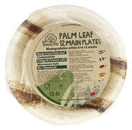 EcoSouLife - Palm Leaf Main Plates - 12 Piece(s)