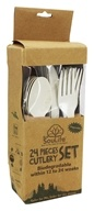 EcoSouLife - Cornstarch Cutlery Set - 24 Piece(s)