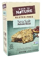 Back To Nature - Gluten-Free Adzuki Bean Crackers Sea Salt - 3.5 oz.