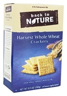 Back To Nature - Harvest Whole Wheat Crackers - 8.5 oz.