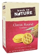 Back To Nature - Classic Round Crackers - 8.5 oz.