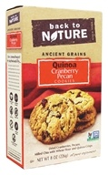 Back To Nature - Ancient Grains Quinoa Cookies Cranberry Pecan - 8 oz.