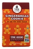 Taza Chocolate - Chocolate Bar 60% Dark Stone Ground Gingerbread Cookie - 2.5 oz.