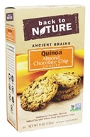 Back To Nature - Ancient Grains Quinoa Cookies Almond Chocolate Chip - 8 oz.