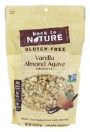 Back To Nature - Gluten-Free Granola Vanilla Almond Agave - 11 oz.