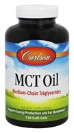 Carlson Labs - MCT Oil - 120 Softgels