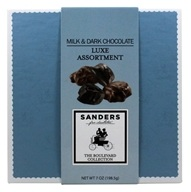 Sanders Candy - Fine Chocolates Luxe Assortment Milk & Dark Chocolate - 7 oz.