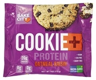 Cookie+Protein - Protein Cookie Oatmeal Raisin - 4 once.