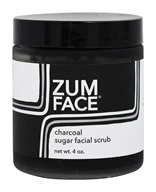 Indigo Wild - Zum Face Sugar Facial Scrub Charcoal - 4 oz.