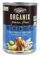 Castor & Pollux - Organix Butcher and Bushel Dog Food Shredded Chicken Dinner - 12.7 oz.