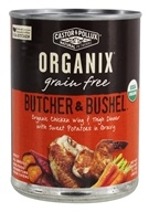 Castor & Pollux - Organix Butcher and Bushel Dog Food Chicken Wing and Thigh Dinner - 12.7 oz.