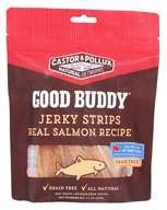 Castor & Pollux - Good Buddy Jerky Strips Dog Treats Real Salmon Recipe - 4.5 oz.
