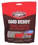 Castor & Pollux - Good Buddy Prime Patties Dog Treats Real Beef Recipe - 4 oz.