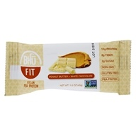 Bhu Fit - Vegan Organic Pea Protein Peanut Butter + White Chocolate - 1.6 oz.