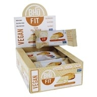 Bhu Fit - Vegan Organic Pea Protein Peanut Butter + White Chocolate - 12 Bars