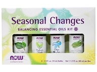 NOW Foods - Seasonal Changes Balancing Essential Oils Kit