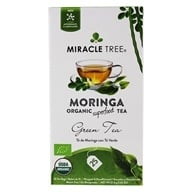 Miracle Tree - Moringa Organic Tea Green Tea - 25 Tea Bags