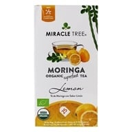 Miracle Tree - Moringa Organic Tea Lemon - 25 Tea Bags