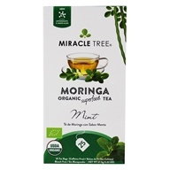 Miracle Tree - Moringa Organic Tea Mint - 25 Tea Bags