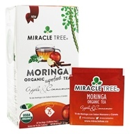 Miracle Tree - Moringa Organic Tea Apple & Cinnamon - 25 Tea Bags