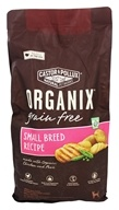 Castor & Pollux - Organix Grain Free Dry Dog Food Small Breed Recipe - 4 lbs.