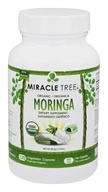 Miracle Tree - Organic Moringa 400 mg. - 120 Vegetarian Capsules