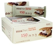 Think Products - thinkThin Protein & Fiber Bars S'Mores - 10 Bars