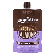 Yumbutter - Plant Protein + Probiotic Almond Butter - 6.8 oz.