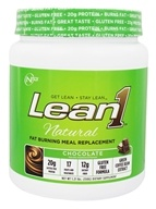 Nutrition 53 - Lean1 Natural Fat Burning Meal Replacement Chocolate - 1.21 lbs.