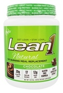 Nutrition 53 - Lean1 Natural Fat Burning Meal Replacement Chocolate - 1.82 lbs.