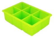 Tovolo - Silicone King Cube Ice Tray Spring Green