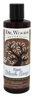Dr. Woods - Liquid Raw Black Soap with Fair Trade Shea Butter Unscented - 8 oz.