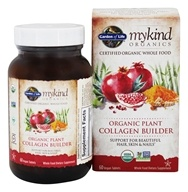 Garden of Life - mykind Organics Organic Plant Collagen Builder - 60 Vegan Tablet(s)