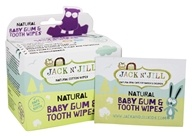 Jack N' Jill - Natural Baby Gum & Tooth Wipes - 25 Wipe(s)
