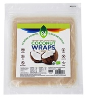 Coconut Wraps Organic Original - 5 Count by NUCO