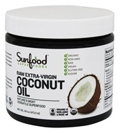 Sunfood Superfoods - Coconut Oil Raw Extra-Virgin - 16 oz.