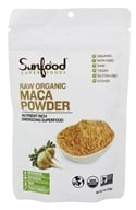 Sunfood Superfoods - Maca Powder Raw Organic - 4 oz.