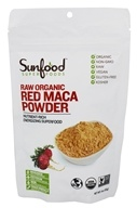 Sunfood Superfoods - Red Maca Powder Raw Organic - 4 oz.