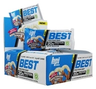 BPI Sports - Best Protein Bar White Chocolate Pretzel - 12 Bars