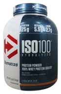 Dymatize Nutrition - ISO 100 100% Hydrolyzed Whey Protein Isolate Cinnamon Bun - 5 lbs.