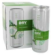 Dry - Sparkling Beverage Cucumber - 4 Can(s)